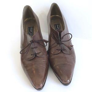 Stuart Weitzman Oxford Ankle Boots, Size 8